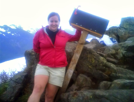 Mailbox Peak and a scrapbooker's worst nightmare