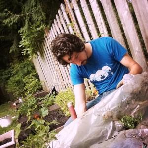 Naptime gardening