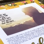 Turning a scrapbook into a memoir