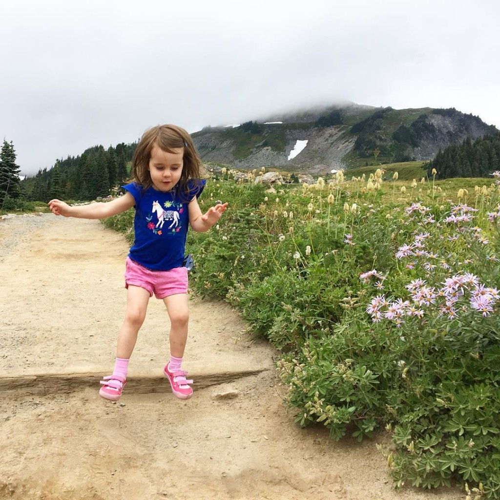 Nora had so much fun on this hike that shehellip